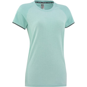 Kari Traa Eva - Camiseta manga corta Mujer - Turquesa
